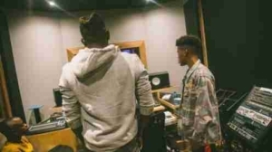 Nigerian Rapper Ycee Spotted In Studio With Nasty C (Photos)